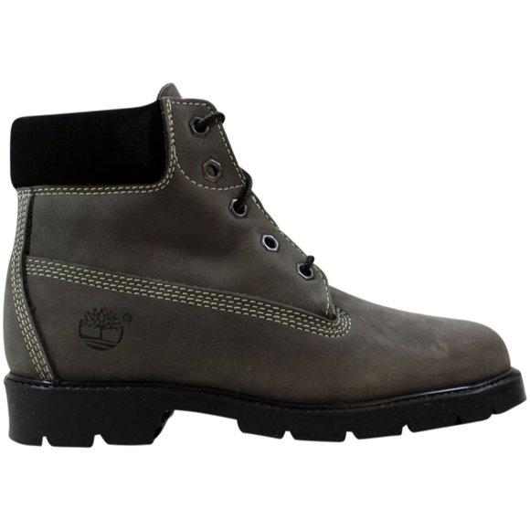 Kids Boys 6 Boot Grey Nubuck 10934